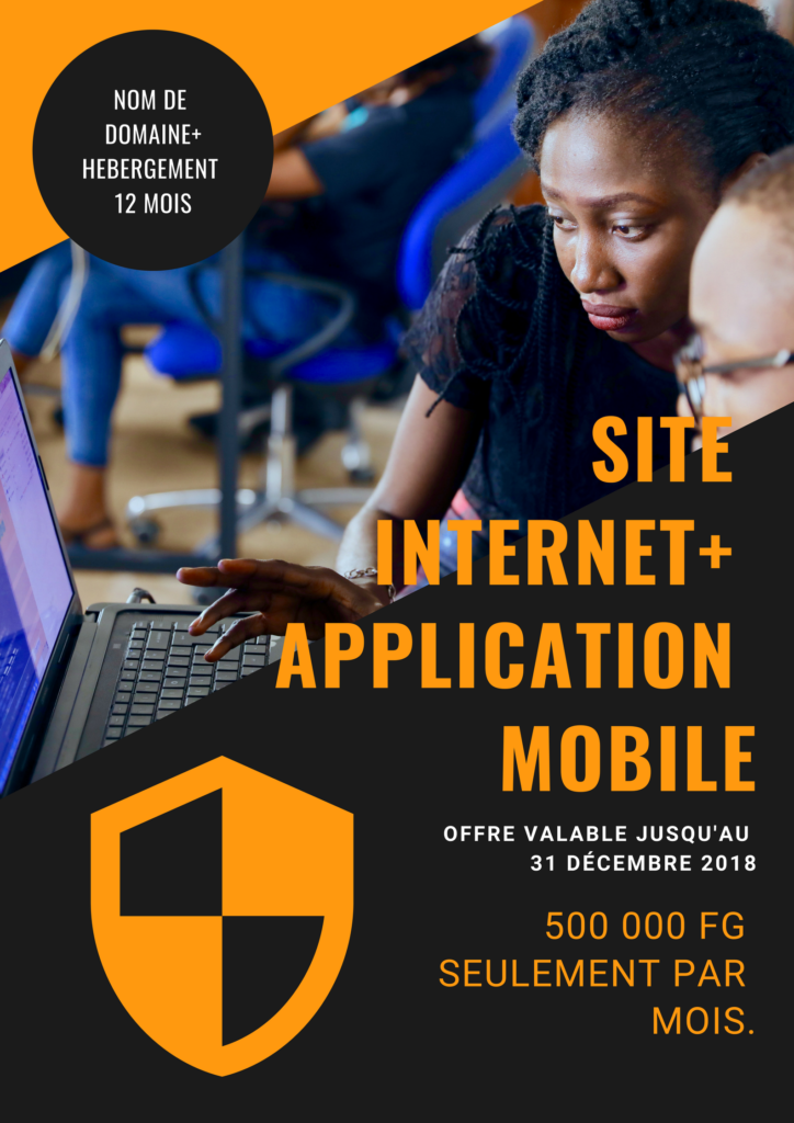 de Site internet+ application mobile OFFRE G28